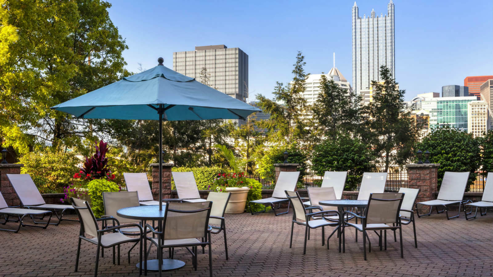 Sheraton Pittsburgh Hotel at Station Square - Patio